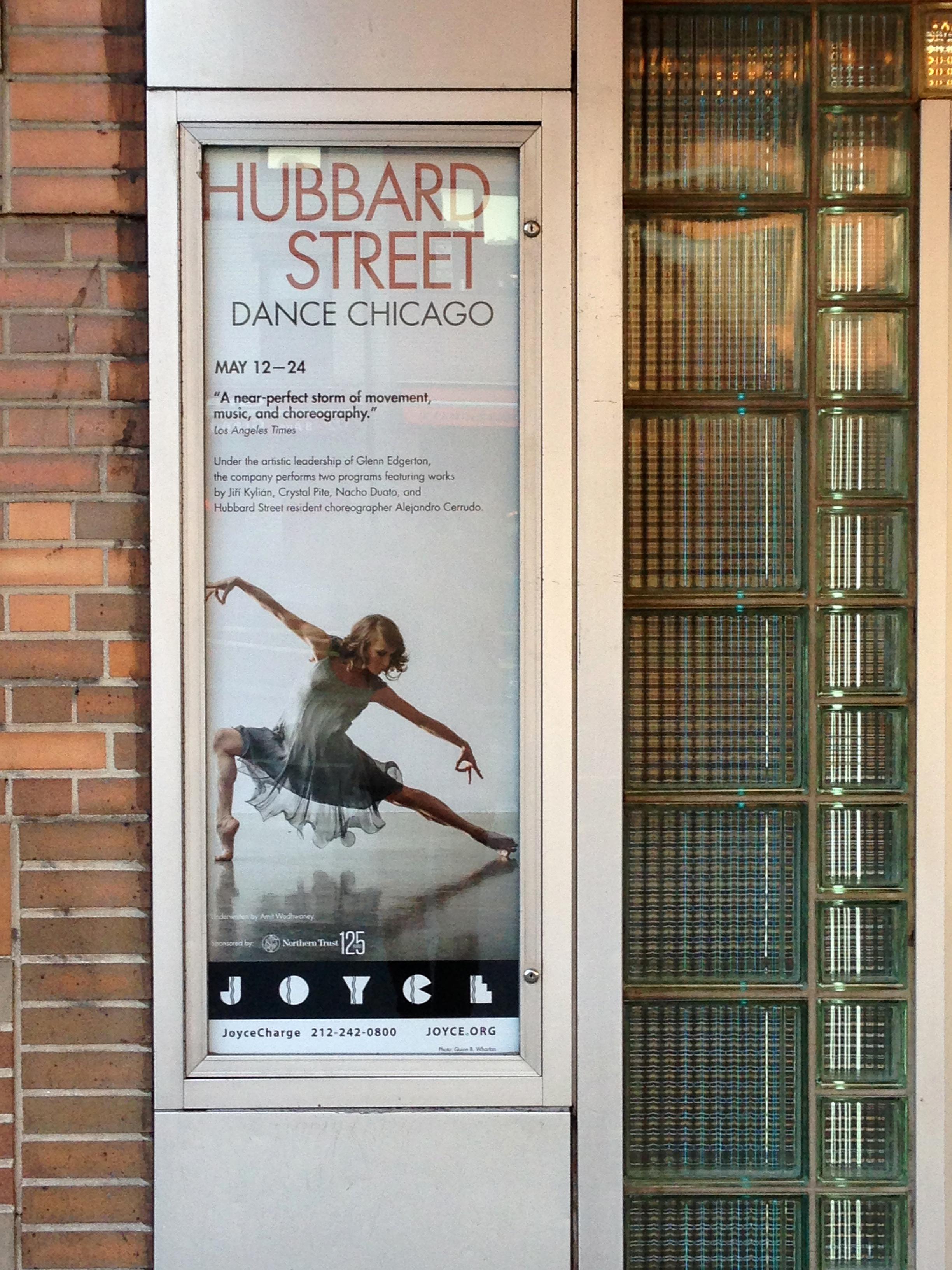 Hubbard Street Dance Poster