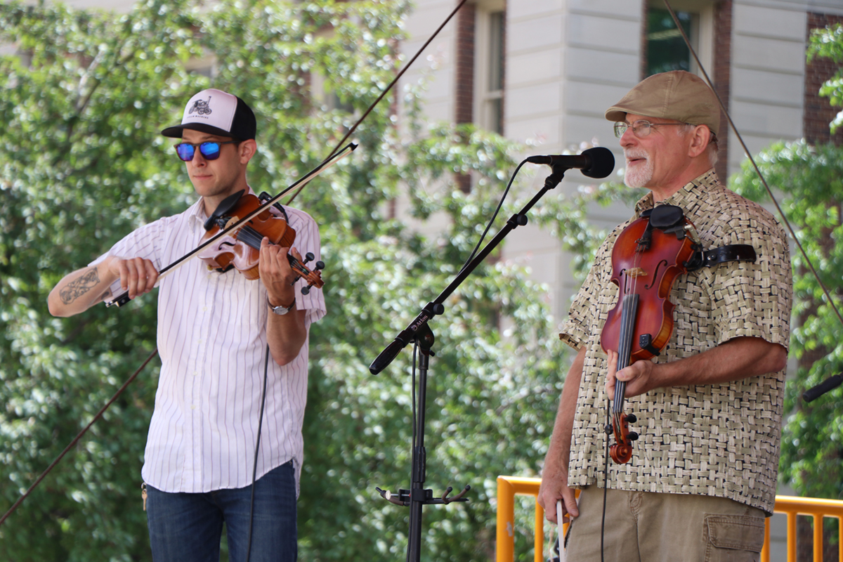 New Riverside Ramblers June 19 2019 Music on the Plaza at Northrop