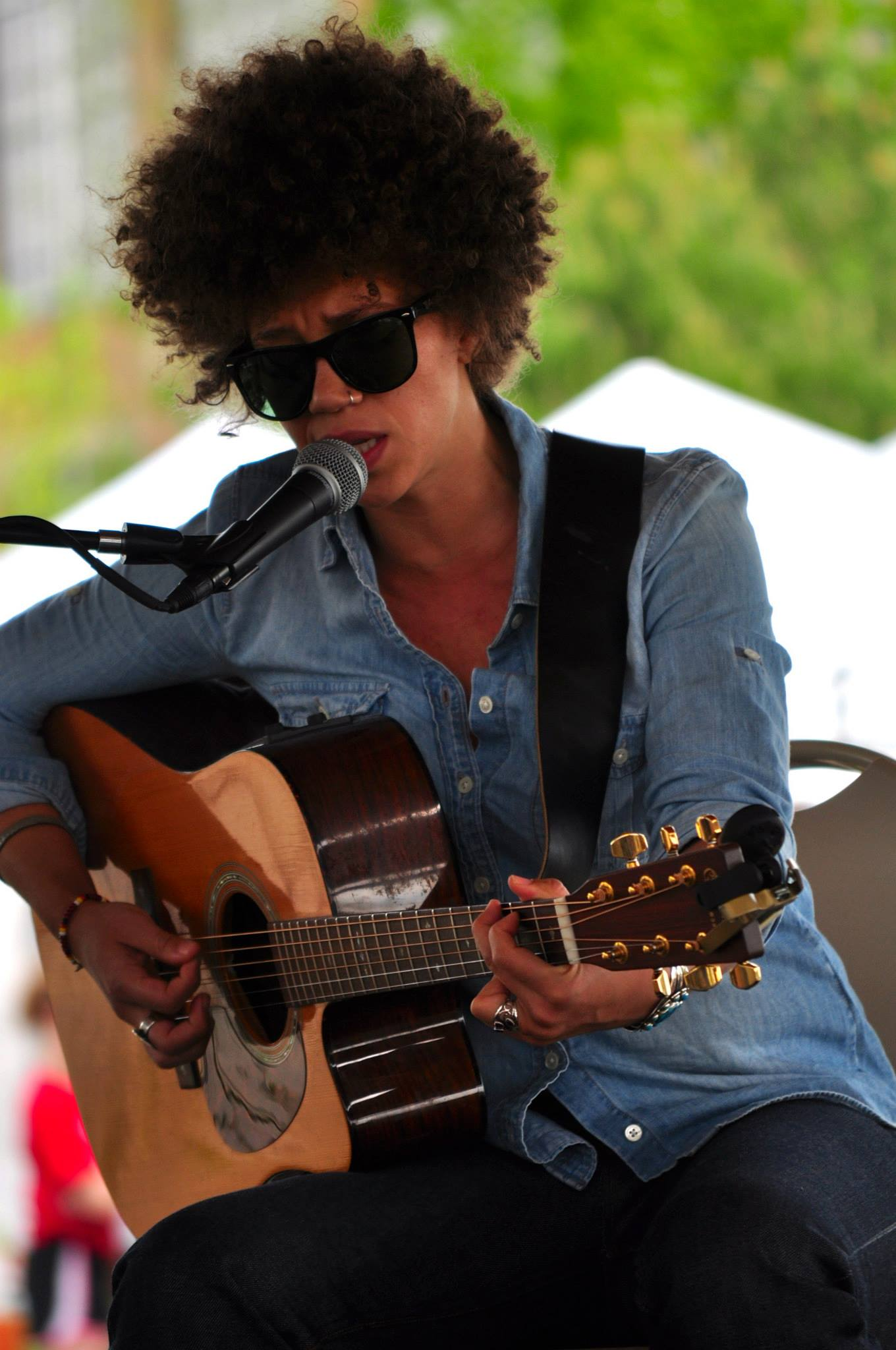 Chastity Brown at Arts in the Park in Eden Prairie_Photo Credit Nicole Stumpf