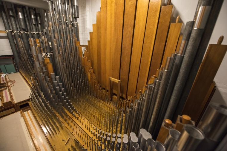 Northrop's organ pipes