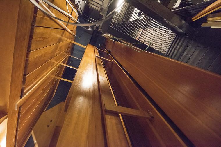 Northrop's organ loft