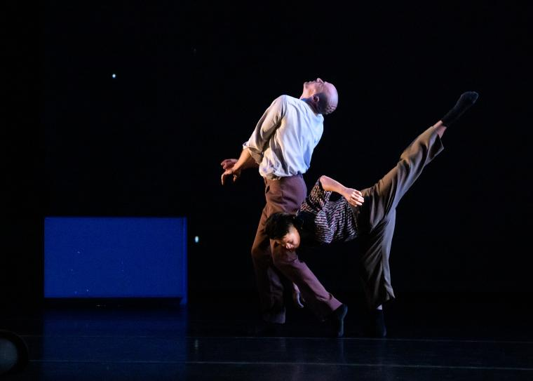David Roussève/REALITY dancers in Halfway to Dawn