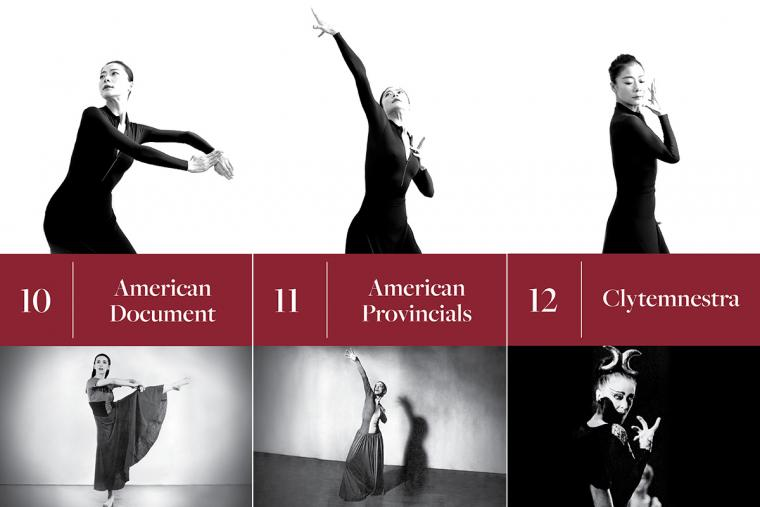 10. American Document; 11. American Provincials; 12. Clytemnestra