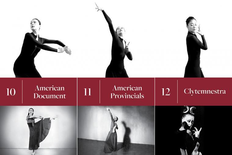 10. American Document; 11. American Provincials; 12. Clytemnestra