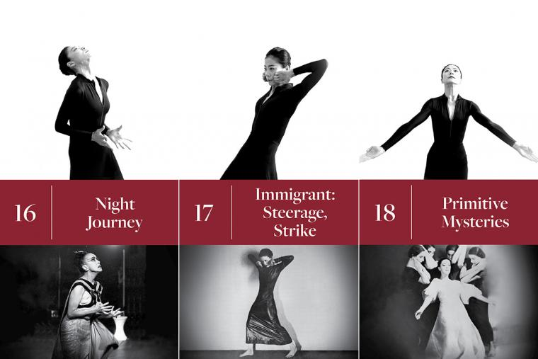 16. Night Journey; 17. Immigrant: Steerage, Strike; 18. Primitive Mysteries