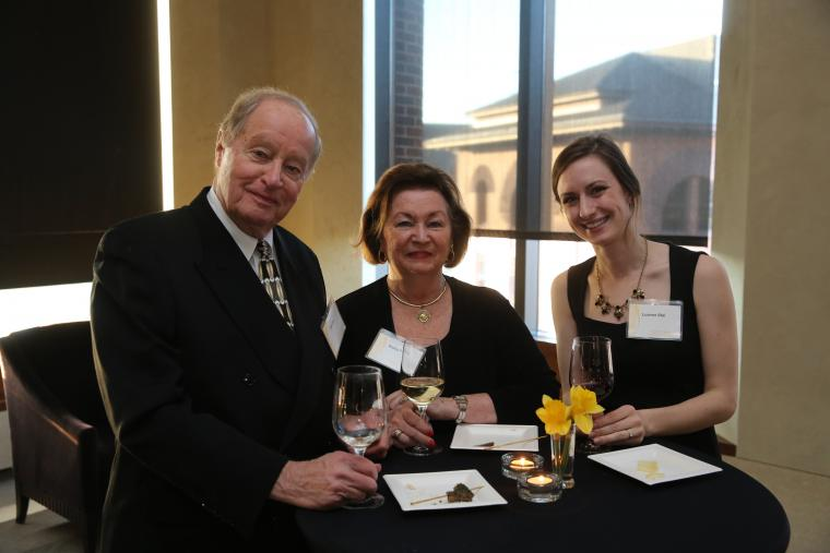 Northrop and College of Liberal Arts pre-performance reception for The Martha Graham Dance Company