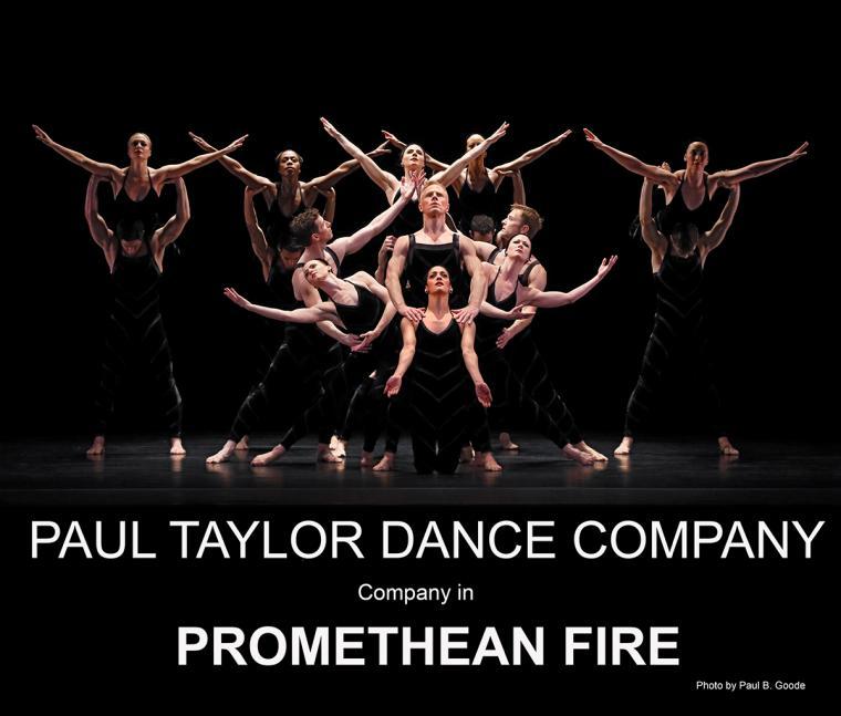 Paul Taylor Dance Company in Promethean Fire