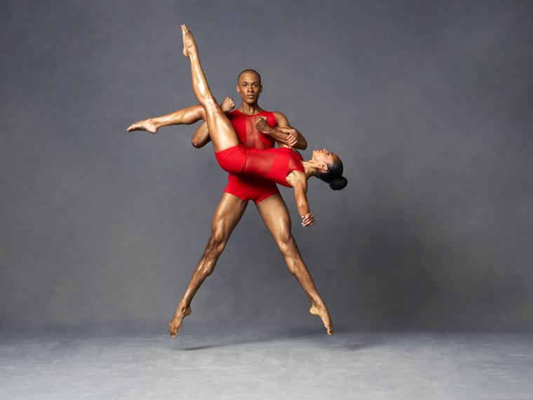 Alvin Ailey American Dance Theater Linda Celeste Sims and Yannick Lebrun