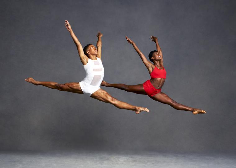 Alvin Ailey American Dance Theater Rachael McLaren and Daniel Harder