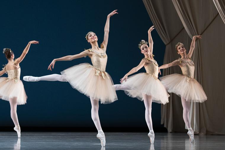Ballet West artists perform Diamonds