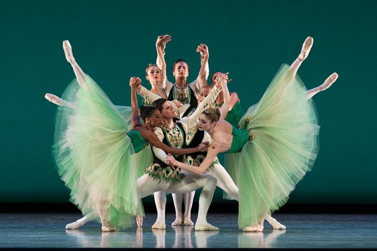 Ballet West artists perform Emeralds