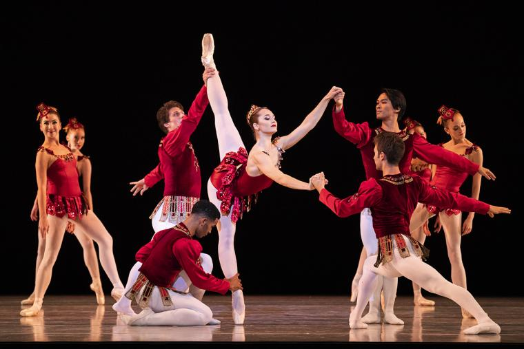 Ballet West artists perform Rubies