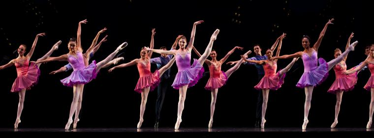 Photo of Ballet West Performing Who Care