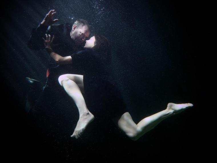 Underwater scene from Michael Keegan-Dolan's Swan Lake / Loch na hEala
