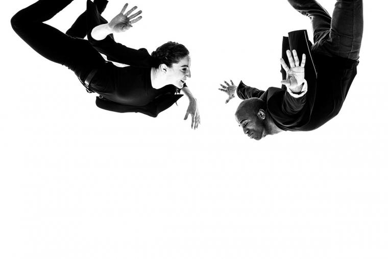 Myelination. Dancers, Ephrat Asherie and Matthew West