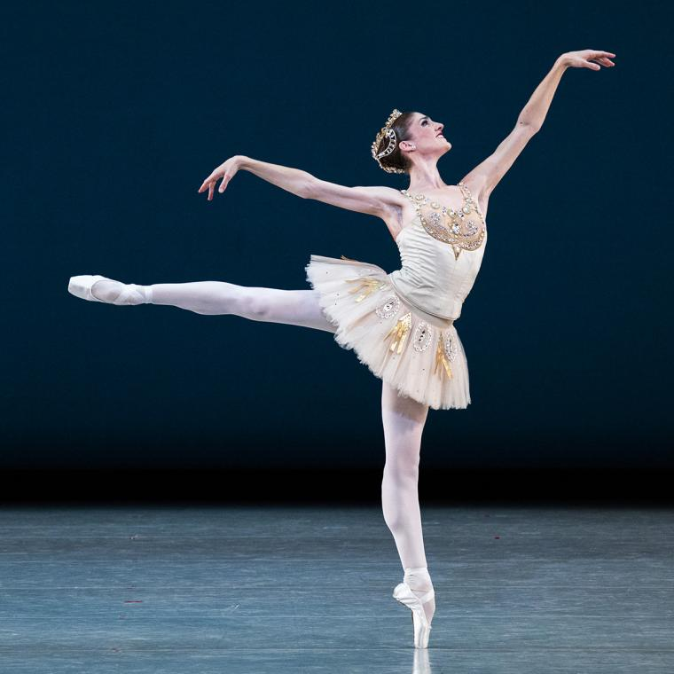Scene from Diamonds with Emily Adams of Ballet West