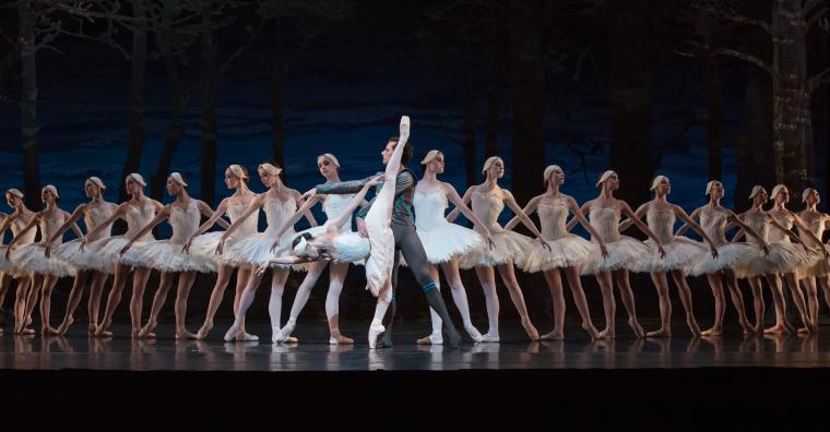 Houston Ballet in Swan Lake - Karina Gonzalez, Simon Ball, and Artists of Houston Ballet