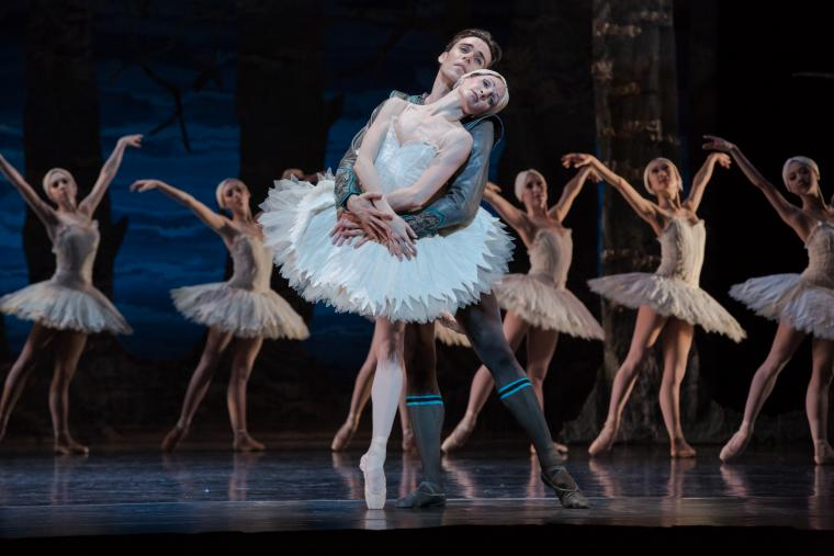 Houston Ballet in Swan Lake - Sara Webb, Connor Walsh, and Artists of Houston Ballet