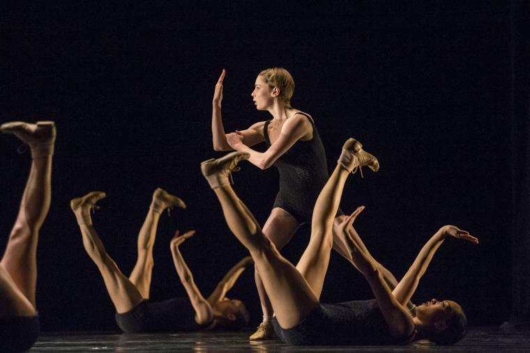 Hubbard Street Dancer Emilie Leriche
