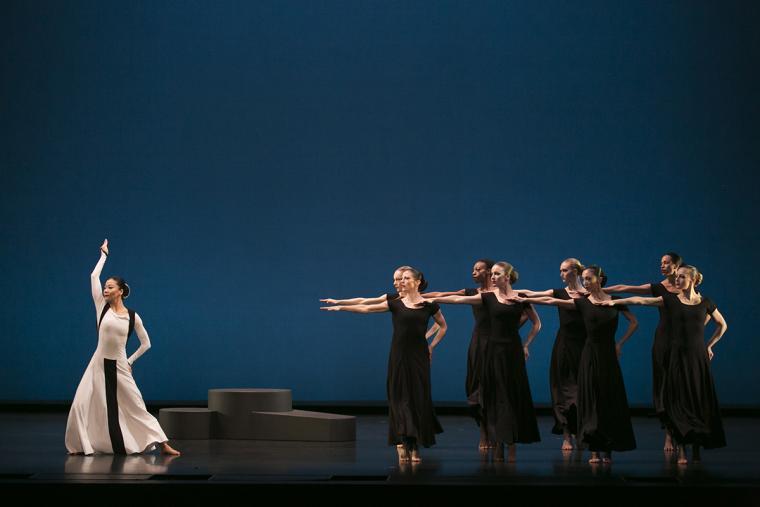 Martha Graham Dance Company performs Chronicle