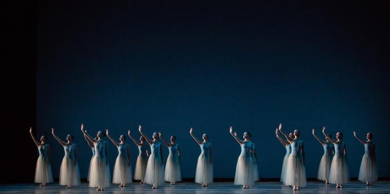 Photo of Miami City Ballet performing Balanchines