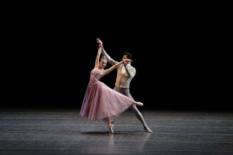 New York City Ballet - In the Night - Sterling Hyltin and Robert Fairchild
