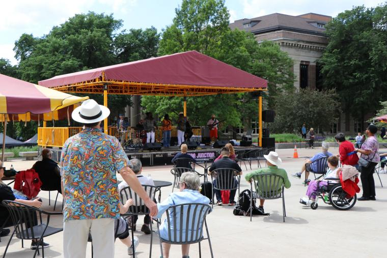 Funktion Junction June 12 2019 Music on the Plaza at Northrop