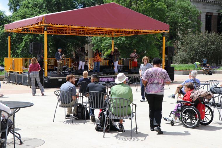 Funktion Junction June 13 2019 Music on the Plaza at Northrop