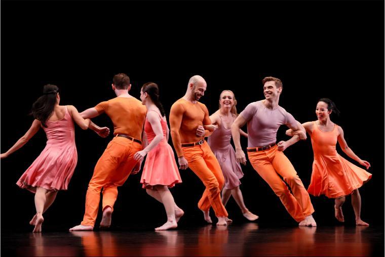 """Paul Taylor Dance Company in """"Esplanade"""" image 4"""