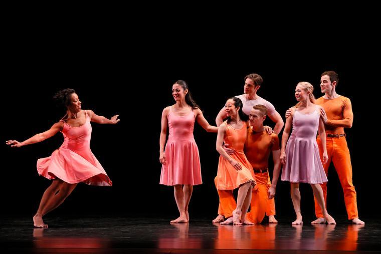 """Paul Taylor Dance Company in """"Esplanade"""""""