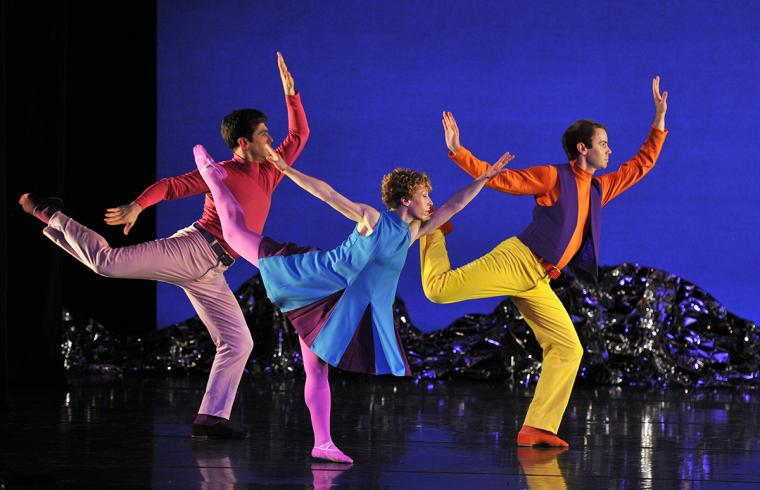 Mark Morris Dance Group scene from Pepperland
