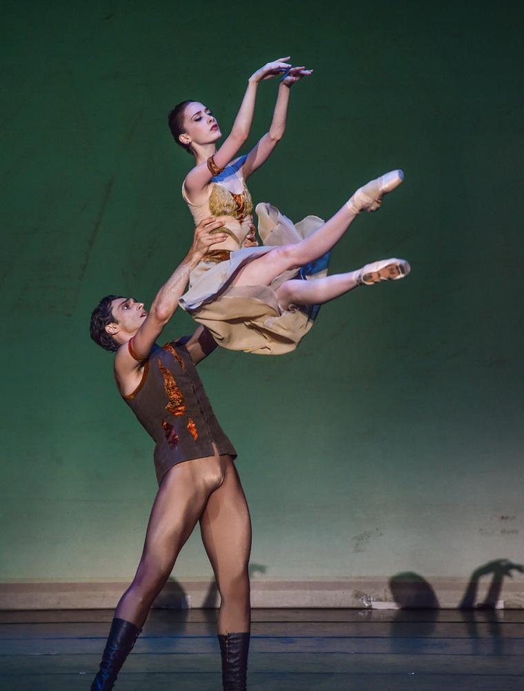 The State Ballet of Georgia performers in Sagalobeli