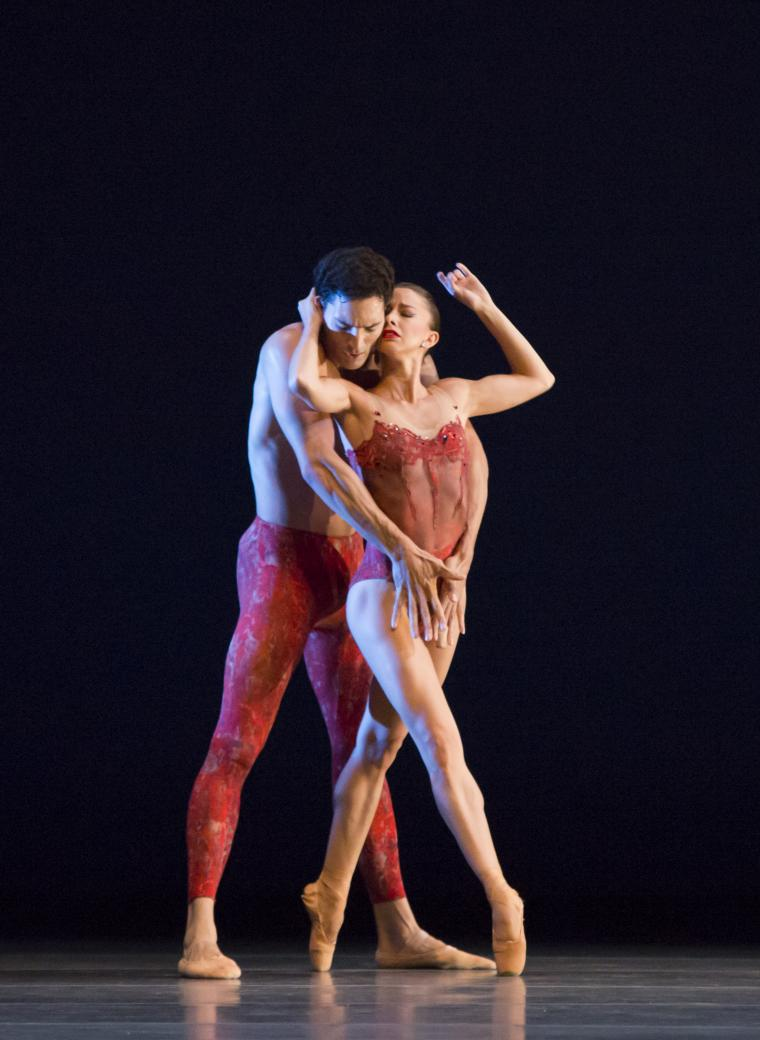 The Joffrey Ballet in Bells April Daly, Fabrice Calmels