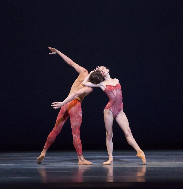 The Joffrey Ballet in Bells Victoria Jaiani, Temur Suluashvili
