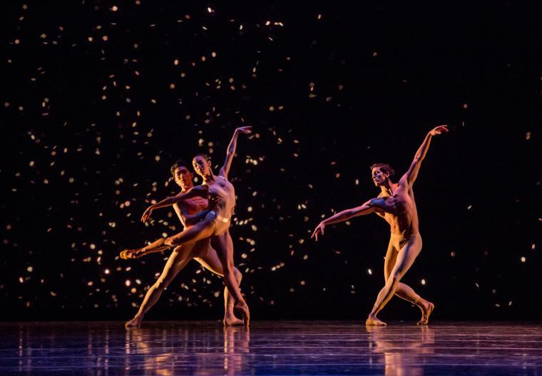 The Joffrey Ballet in Fool's Paradise Amanda Assucena, Yoshihisa Arai, Alberto Velazquez