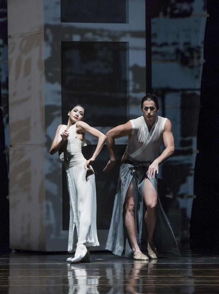 The Joffrey Ballet in RakU Christine Rocas, Miguel Angel Blanco