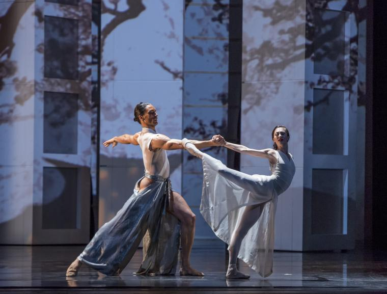The Joffrey Ballet in RakU Victor Jaiani, Fabrice Calmels