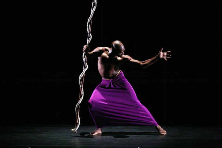 Photo of Clytemnestra by Martha Graham Dance Company