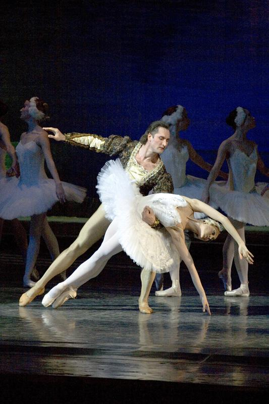 """Swan Lake"", 2nd act, Soloists - Marta Filippova and Vladislav Ivanov"