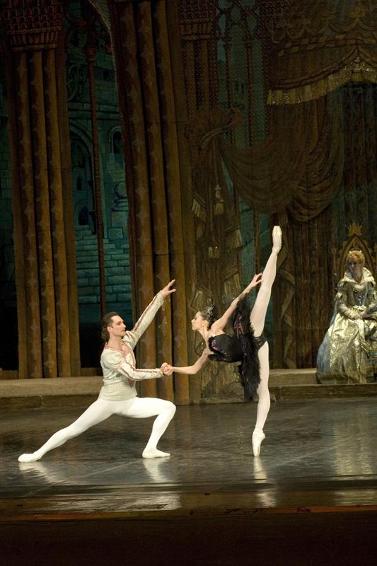 """Swan Lake"", 3rd act, Soloists - Marta Filippova and  Vladislav Ivanov"