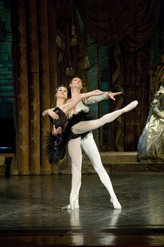 """Swan Lake"", 3rd act, Soloists - Marta Fillippova and Vladislav Ivanov"