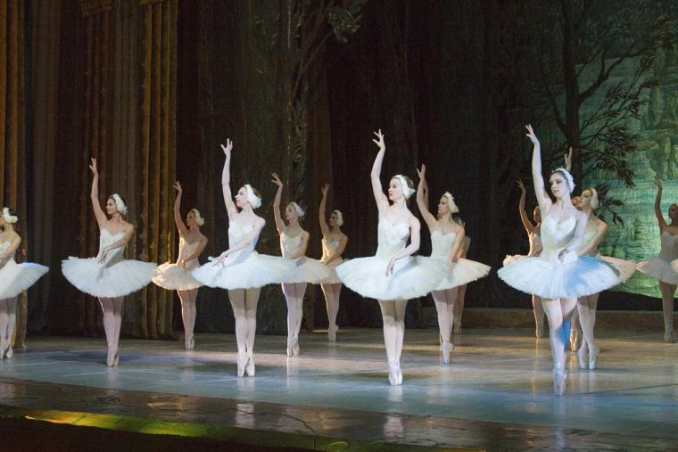 """Swan Lake"", 2nd act, Swans – Cop de Ballet"