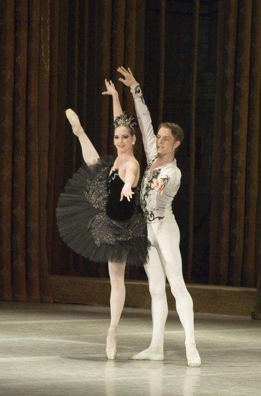 """Swan Lake"", 3rd act, Soloists - Yuliya Nepomnyashchaya and Ivan Alexeyev"