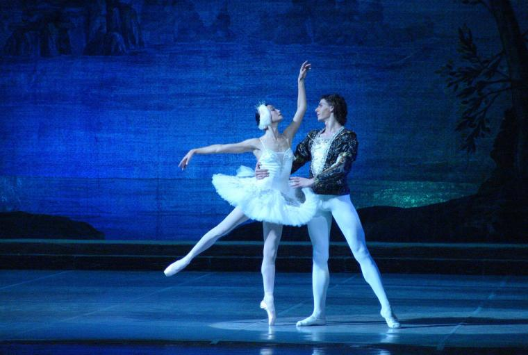 """Swan Lake"", 2nd act, Soloists - Tatyana Frolova and Alexander Lityagin"