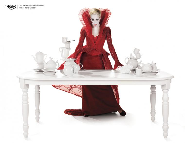 """Wonderland"" Red Queen Table Photo © David Cooper"