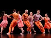 """Paul Taylor dancers in """"Esplanade"""""""