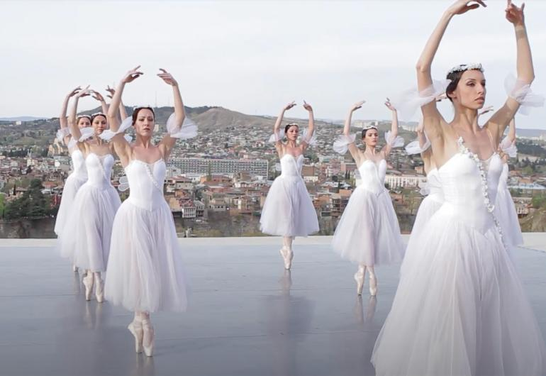 State Ballet of Georgia Today outdoor screening event